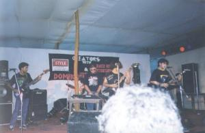 Demonic Resurrection performing at Domination - The Deathfest in 200.