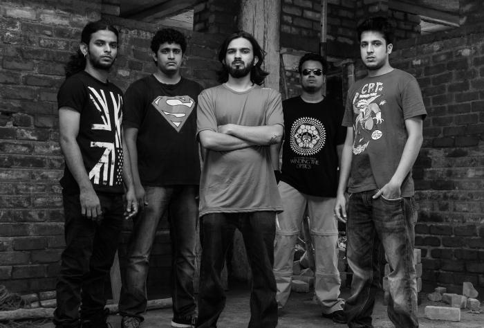 (Left to Right) Manu Krishnan, Siddhartha Ramanathan, Abijith Rao, Madhav Ayachit, Anshuman Mishra