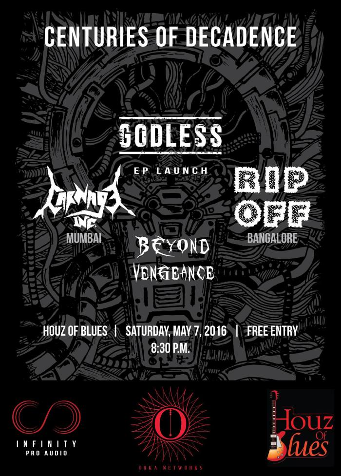 Godless Album launch gig